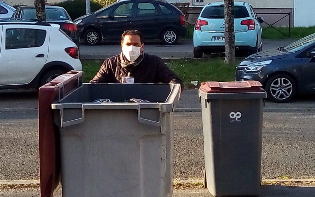 Action de nettoyage pour la résidence Bellevue à Souppes-sur-Loing