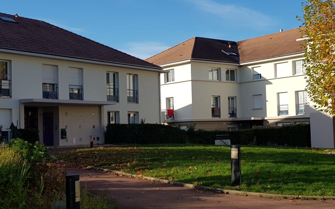 Ravalement des façades de la résidence Les Fenaisons à Magny-le-Hongre