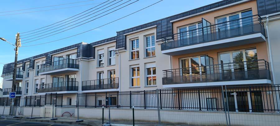 Une résidence intergénérationnelle de 76 logements sur le point d'être livrée à Saint-Pierre-Lès-Nemours